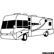 Free Coloring Page Of A Terra Wind RV Color In This Picture And Share It With Others Today