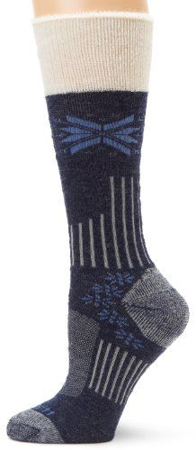 Carhartt Womens Snow Flake Sherpa Cuff Graduated Compression Boot Socks  Denim Shoe 55115 *** You can find out more details at the link of the image.Note:It is affiliate link to Amazon.