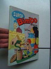 EDITION  SFPI   / RELIURE  SUPER BIMBO SPECIAL / NUMEROS  30 A 32 /  1963
