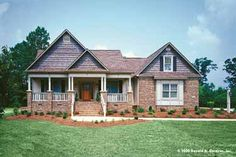 Stylish and Sensible (HWBDO07695) | Country House Plan from BuilderHousePlans.com
