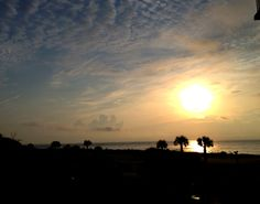 Sunrise on Isle of Palms, South Carolina
