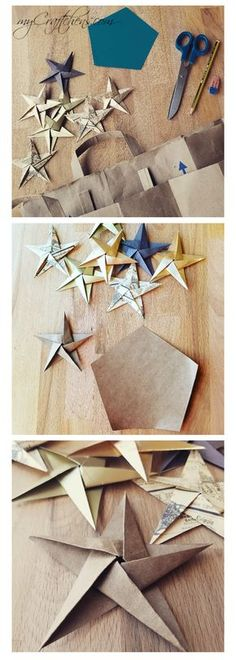 cheap and simple DIY christmas ornaments for your christmas tree or as decoration for the home or gift wrapping. tutorial included