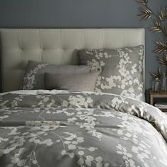 "But this one was my favorite! The boyfriend thinks it's ""too girly."" PFT! What does he know?!    Moonflower Duvet Cover 