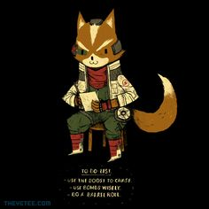 Fox To Do List By Louis Roskosch, today at The Yetee!