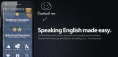 Speaking English app can train your pronunciation & speaking skills. Just listen, repeat and compare! It is an app which helps you to improve your English speaking skills naturally & easily. It's easy, fun & works in the same way as you learned your first language. Choose from variety of topics, e.g.- Pronunciation - Job Interview- Basic English- Presentations- Customer Service.