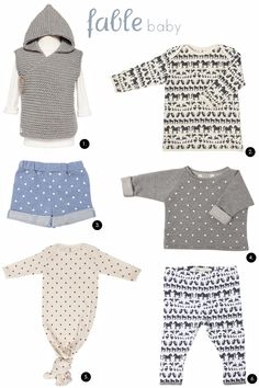 Bondville: Fable Baby super-cute sustainable handmade baby clothes