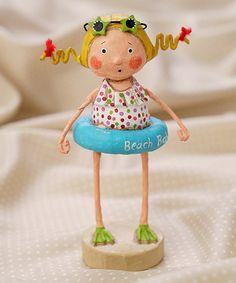 Another great find on #zulily! Beach Babe Figurine #zulilyfinds