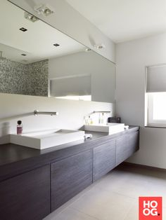 Moderne badkamer inspiratie | badkamer ideeën | design badkamers | bathroom decor | HOOG.design