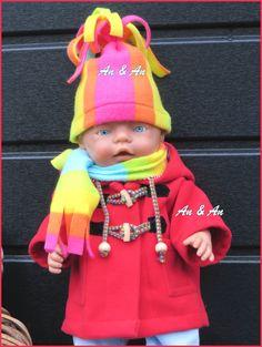 winterjas voor BabyBorn