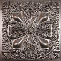 Avalon Tuile de Plafond en Faux Etain,2 pieds x 2 pieds à poser ou coller …