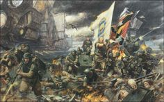 40k Imperial Guards art