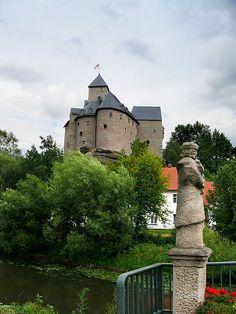 Castle Falkenberg is situated within the village Falkenberg, Bavaria, Germany.