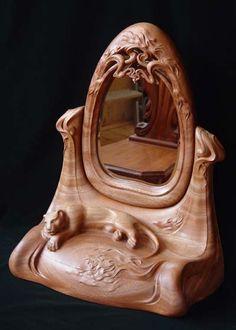 woodcarving, modern