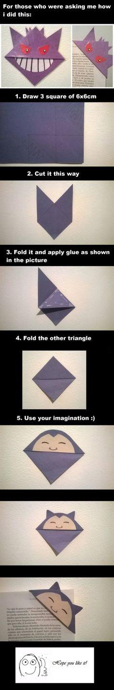 Estos puntos de libro quedan geniales y son muy fáciles de hacer. Además de poner paso a paso como hacerlos, puedes hacer de el Pokemon que quieras. Nada mejor para una tarde de domingo que un poco…