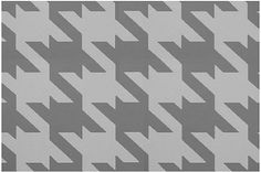 Houndstooth Rug by Luxury interiors London Beaufort Collection