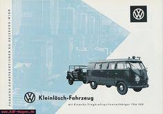 VW - 1957 - VW Kleinlösch-Fahrzeug - [7261]-1