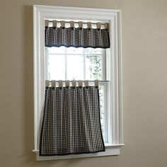French Stripe Cafe Curtain   Traditional   Curtains   Pottery Barn This Is  The Fabric I Want (in Blue) For The Kitchen Curtains | Sewing It Up |  Pinterest ...