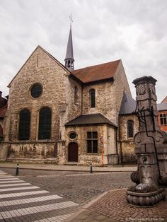 Old church in Lier, Belgium.