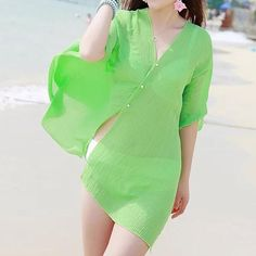 a09a1bb1b3250 Summer Women Fashion Beach Cover Up Sexy Swimsuit Bathing Suit Cover Up