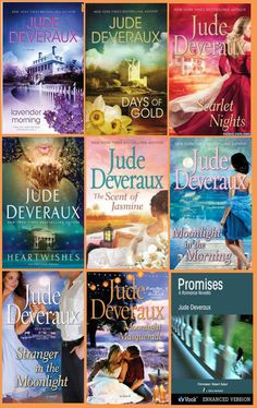 everything by Jude Deveraux... old and new, holiday collections <3