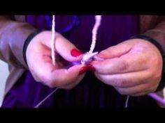▶ Cachecol em trico com Ponto fantasia - YouTube