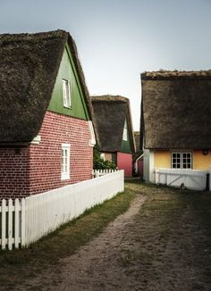 Sønderho, Denmark | 15 Colorful Buildings That Will Brighten Up Your Day