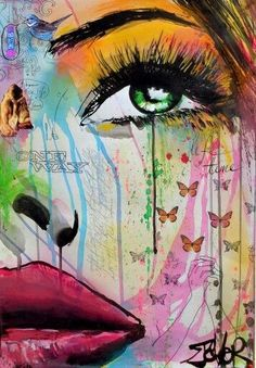 View LOUI JOVER's Artwork on Saatchi Art. Find art for sale at great prices from artists including Paintings, Photography, Sculpture, and Prints by Top Emerging Artists like LOUI JOVER. Face Art, Drawing Women Face, Drawing Eyes, Portrait Art, Portraits, Chalk Art, Watercolor Art, Art Drawings, Drawing Art