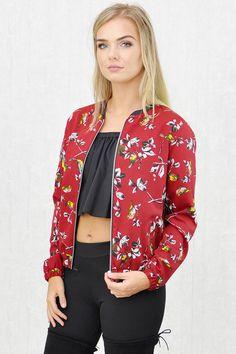 Gigi Zip-Thru' Bomber Jacket Stitch Fix, Bomber Jacket, Blazer, Zip, Jackets, Inspiration, Outfits, Clothes, Collection