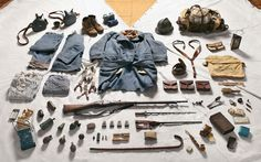 The kit of a French Private Soldier in the Battle of Verdun, 1916, provided by Paul Bristow, Croix de Guerre Living History Group