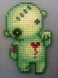 Zombie Cross Stitch Patterns | Found on Uploaded by user