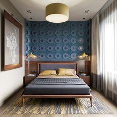 Bedroom interior on Behance Bedroom Decor For Women, Small Bedroom Furniture, Master Bedroom Interior, Home Decor Furniture, Modern Bedroom, Diy Bedroom Decor, Bedroom Bed, Bed Room, Study Room Design