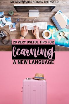 Language learning is a fun part of our travels. Read this post for my secret language learning tips that will help you improve your foreign language skills the easy, fun way | Language learning hacks | Foreign language learning | language apps | learn a language | learn a language fast | #skills #languagetips via @clautavani