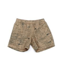 map-print shorts -- for kids, but wish they had these in adult sizes!