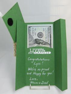 Graduation Money Holder Open
