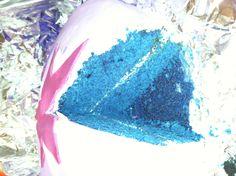 Blue velvet cake!
