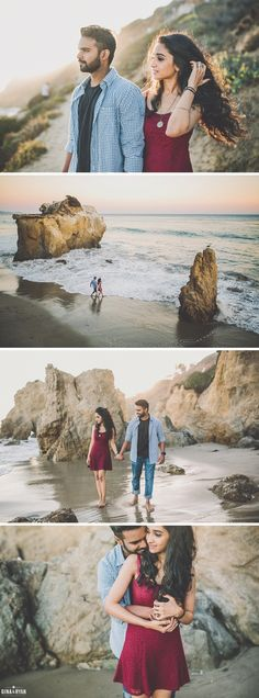 El Matador Beach Engagement Session - Tap the link to see the newly released collections for amazing beach bikinis! Beach Photography, Couple Photography, Engagement Photography, Beach Engagement, Engagement Pictures, Engagement Session, Couple Posing, Couple Shoot, Picture Poses