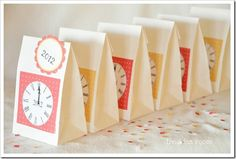 Cute idea for a New Years Eve party for kids by @Amy Huntley