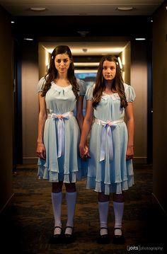 The Shining's Grady twins | Long Beach Comic Expo 2014