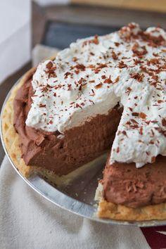 Super Speedy Double Chocolate Pie.