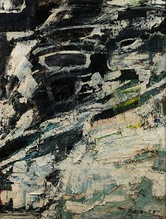 Stephen Pace, Untitled (55-32) 1955, Oil on canvas