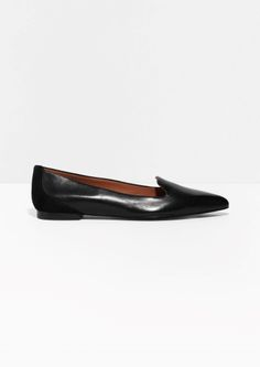 & Other Stories | Leather Ballerinas