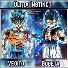 "579 Likes, 21 Comments - Vegeta&Bulma (@vegeta_bulma7) on Instagram: ""Gogeta! I also feel like Gogeta is more likely to happen. What do you guys think? Comment down…"""