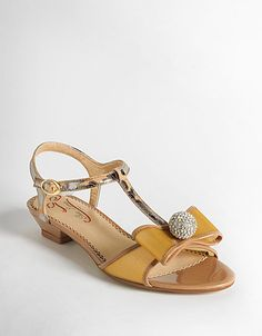 Good Fortune T-Strap Sandals - on sale! $29