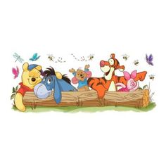 York Wallpaper Walt Disney Kids Ii Pooh & Friends Outdoor Fun Giant Wall Decal - Welcome to our website, We hope you are satisfied with the content we offer. Disney Winnie The Pooh, Winnie The Pooh Drawing, Winnie The Pooh Pictures, Winnie The Pooh Quotes, Winnie The Pooh Friends, Eeyore Pictures, Eeyore Quotes, Cartoon Wallpaper, Cute Disney Wallpaper
