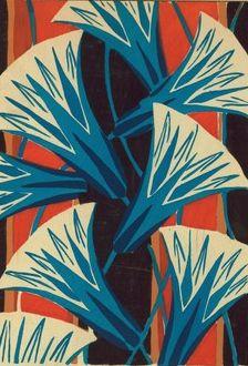 Lillies ----henri gillet 1880 - 1920