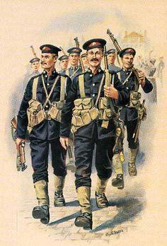 The Royal Marine Brigade In Belgium, August 1914