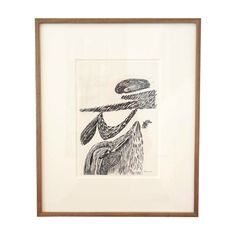 """Louise Bourgeois """"Inner Life (Moma 78)""""   From a unique collection of antique and modern drawings at http://www.1stdibs.com/furniture/wall-decorations/drawings/"""