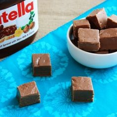 Super super easy and cheap creamy and delicious Nutella fudge!