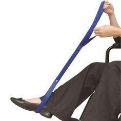 This single loop leg lifter can be ordered online from the NRS Mobility and Access collection. Allows user to independently left legs into a bed or car - VAT Exemption Available. Wheelchair Cushions, Mobility Aids, Harem Pants, Legs, Collection, Fashion, Moda, Harem Trousers, Fashion Styles