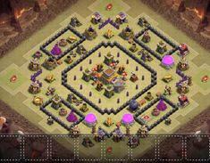 OMG These anti dragon base designs are really cool because of which dragons stopped flying after seeing this town hall 8 base layouts and killed themselves. Clash Of Clans Levels, Clash Of Clans Game, Supercell Clash Of Clans, Dragon Base, Soda Can Art, Cute Funny Quotes, Clash Royale, Town Hall, Geek Stuff